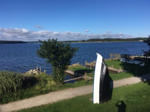 Ferienwohnung direkt an der Schlei in Maasholm zu vermieten: mit Schleiblick und im skandinanvischen Stil eingerichtet